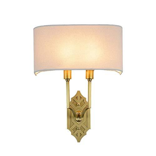 ROIY Einfache Gang Kupfer LED Energiesparlampe Restaurant Halterung Licht Amerikanischen Land Nachttischlampe Waschtisch Spiegel Scheinwerfer Edison Glühbirnen Europäischen Wohnzimmer Wandleuchte