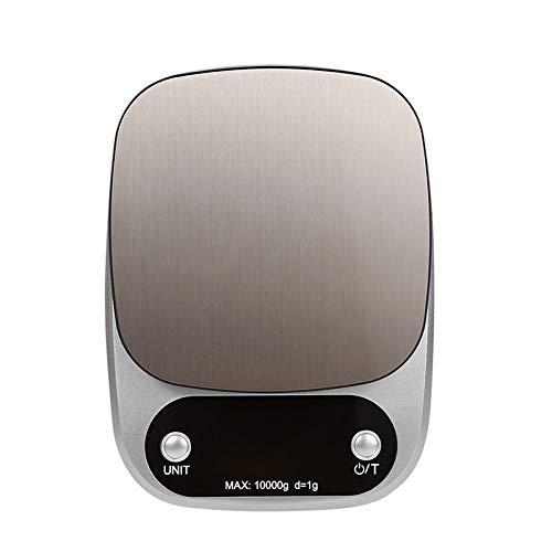 MHBY Balance de cuisine, balance de cuisine de poche à affichage numérique Balance de laboratoire électronique de haute précision Balance de pesage de thé Balance de cuisine 10KG