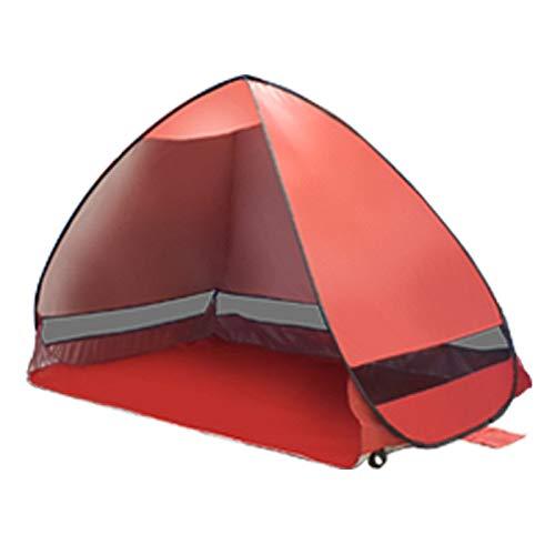 Ai-lir Event Zelt Außerhalb des Popupzelts Ultralight Beach Zelte Schutzhütte-Roboterzelt-Farbton (Color : Red)