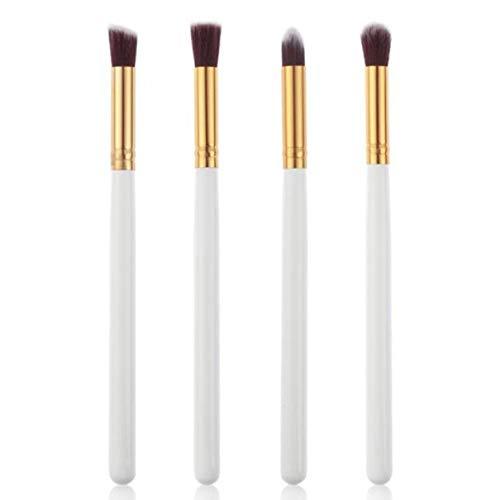 MEIYY Pinceau de maquillage 4Pcs Cosmetic Makeup Brushes Eyeshadow Powder Foundation Concealer Make Up Brushes Blending Eye Shadows Makeup