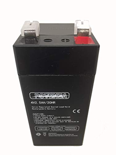 Tor-Rey 4 Volt Battery for LPC-40L / PC-40L /PC-80L Scales with 6 Volt Power Supply/AC Adaptor Transformer
