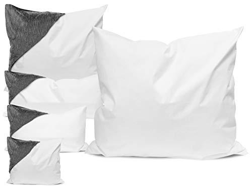 Allergendichte Kissen-Zwischenbezüge - wirksam gegen Milben, Bakterien und Pilze - verbinden optimal Allergieschutz und hohen Schlafkomfort - erhältlich in 4 verschiedenen Größen, 40 cm x 40 cm
