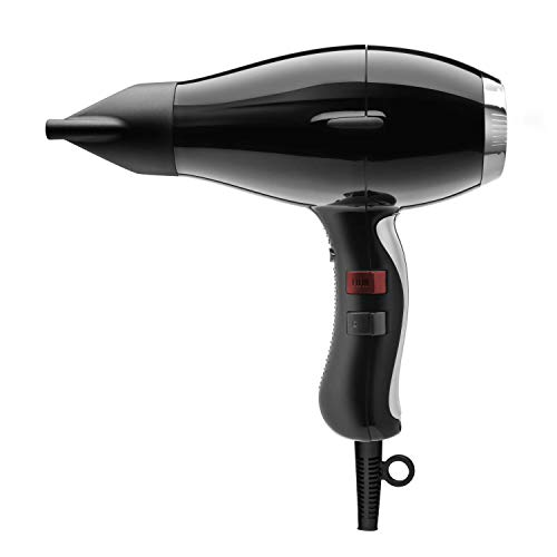 Elchim 3900 Healthy Ionic Ceramic Hair Dryer, Black/Silver