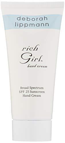 deborah lippmann Rich Girl Broad Spectrum SPF 25 Hand Cream, 3 oz.