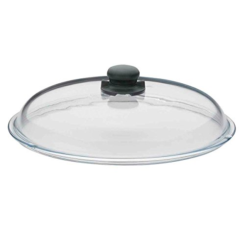 Spring 1484886128 Vulcano Glasdeckel 1 Stück, Glas, transparent, ⌀ 28 cm