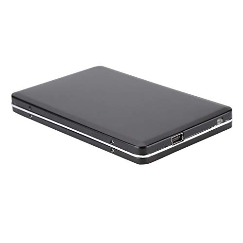 Emoshayoga Boîtier de Disque Dur SATA en métal Boîtier de Disque Dur Mobile Boîtier de Disque Dur Boîtier de Disque Dur pour Ordinateur pour PC pour Bureau