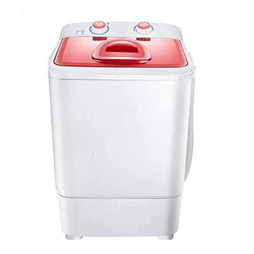 Kücheks Mini Lavadora y Secadora rotativa semiautomática portátil, esterilización de Ahorro de energía, Capacidad de 3.8 kg, Capacidad de deshidratación de 1.5 kg, Adecuada para bebés bebés