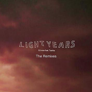 LIGHT YEARS feat. Tashka The Remixes