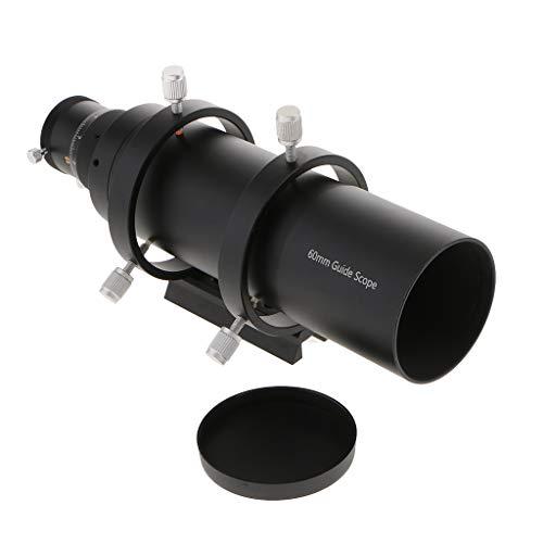 H HILABEE 60 mm Sucherfernrohr mit Doppelhelixfokus für astronomische Teleskope 240mm Brennweite 1,25 Zoll