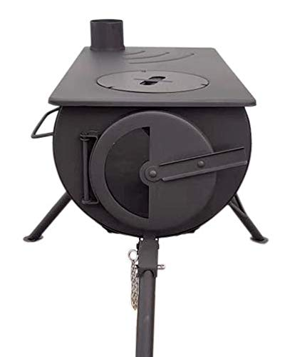 Outbacker Portable Wood Burning Stove - Glass Door