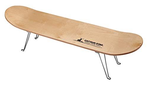 キャプテンスタッグ(CAPTAIN STAG) テーブル ラック スケボーテーブル ナチュラル UC-545
