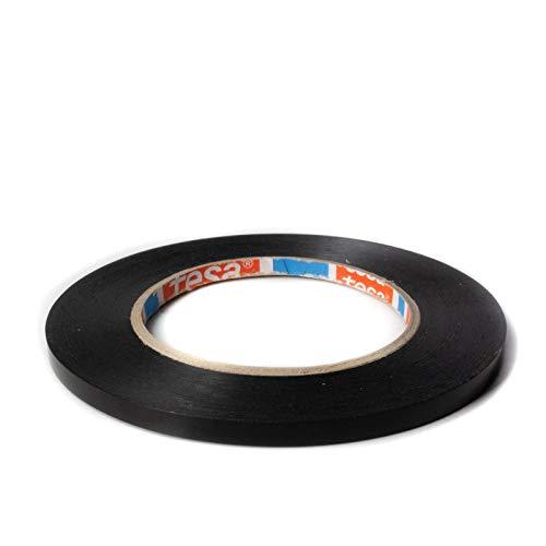 DonDo tesa Strapping Klebeband 4288 schwarz Felgenband Konturenband Transportsicherung 6mm x 66m