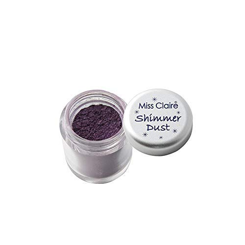 New sales Miss Claire Shimmer Dust 10 3 New life Purple g