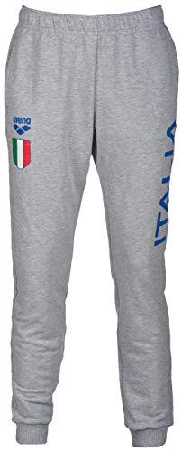 Arena W Italy Fin, Pantaloni Donna, Grigio (Medium Grey Melange), L