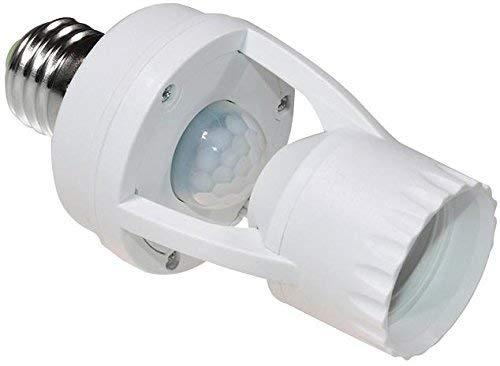 MacleanEnergy MCE24Douille avec détecteur de Mouvement 360°