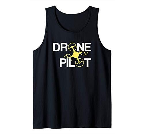Piloto de Drones Camiseta sin Mangas