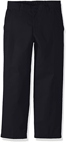 Classroom School Uniforms Big Boys Husky Flat Front Pant, Dark Navy, 20H