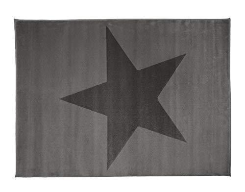 Aratextil Estela Alfombra Infantil, Acrílico, Gris, 120x160 cm