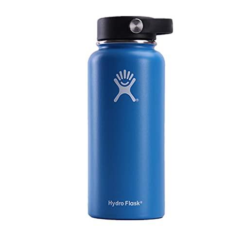 UKKD Water bottle Thermos Bottle 18 Oz / 32 Oz / 40 Oz Vacuum Bottle Thermos Stainless Steel Kettle Wide-18Oz,Az085