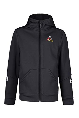 Maloja Fleecejacke Jacke AHABU. Hooded Fleece Jacket Unisex SCHWARZ (M)