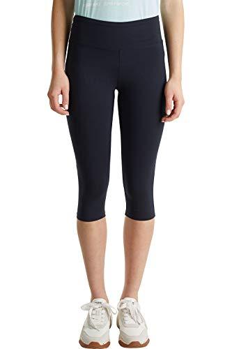 ESPRIT Sports Damen Tight Capri Organic  sportlich Trainingshose, 401,  M