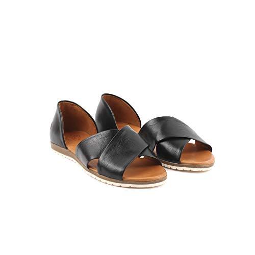 Apple of Eden CHIUSI 1 - Damen Schuhe offene Schuhe - Black, Größe:39 EU