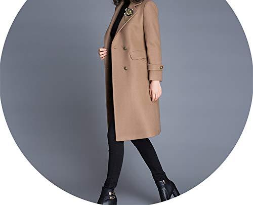 world-palm women coat - Abrigo - Moderno - para Mujer Marrón marrón...