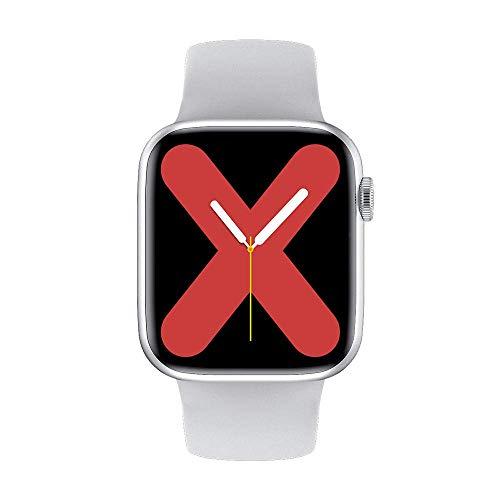 ZHICHUAN el Reloj de Manera Inteligente Hombres Mujeres Monitor de Ritmo Cardíaco Presión Arterial Smartwatch Ip68 Termómetro Ecg Inteligente Relojes Bluetooth Call-White regalo de