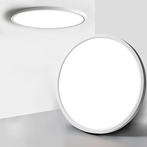Plafoniera LED, Lampada da Soffitto 24W Bianco Naturale 4000K Moderna Tonda Pannello LED Luce Plafoniere per Bagno, Cucina, Soggiorno, Camera, Corridoio, Ufficio