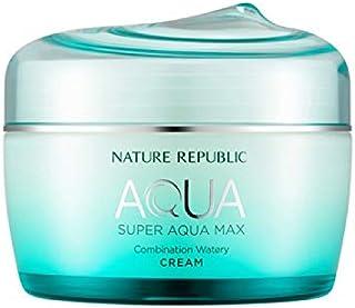 ネイチャーリパブリック(Nature Republic)スーパーアクアマックスコンビネーション水分クリーム [複合肌用] 80ml / Super Aqua-Max Combination Moisture Cream (Combination) 80ml :: 韓国コスメ [並行輸入品]