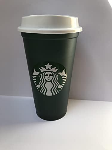 Starbucks Grande wiederverwendbarer Farbwechselbecher, 473 ml, grün/rot, limitierte Auflage