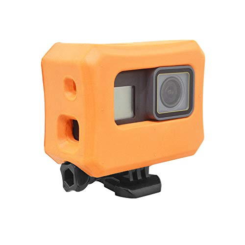 Vikdio Floaty Hülle für GoPro Hero 6 und Hero 5 Kameras - Orange