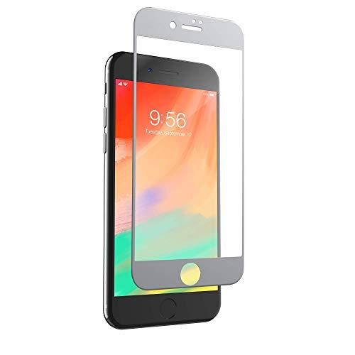 invisibleSHIELD Curve Glass Elite - Protector de pantalla para iPhone 8 Plus/7 Plus, color blanco