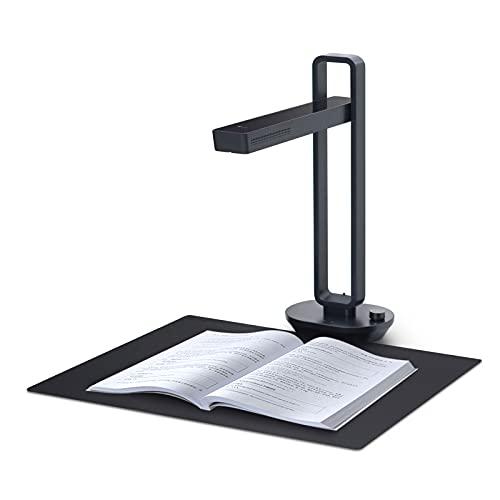 CZUR Aura-B - Scanner per documenti ad alta velocità per studenti e libri da ufficio, fino a A3, compatibile con Mac OS e Windows, lampada da scrivania pieghevole