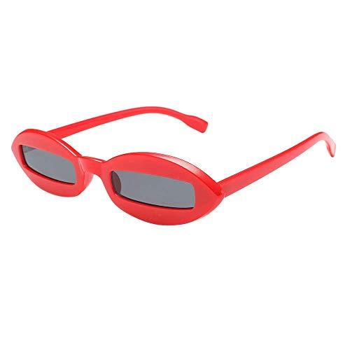 Jumaocio Sunglasses Women Narrow Rectangular Frame Block UV Eyewear Shades Retro Eyewear(D)