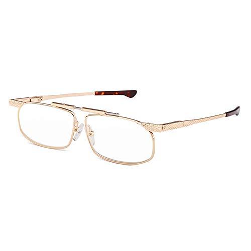 Gafas De Lectura Antirradiación De Luz Azul Para Hombres Y Mujeres Gafas Ópticas Plegables Y Portátiles Para Presbicia, Hipermetropía Con Dioptrías +1,00 A +3,00
