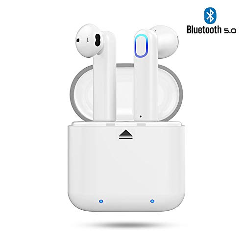 Auricolari bluetooth senza fili Ayete Cuffie in ear Wireless mini auricolare bluetooth Hi-Fi Cuffie Cancellazione Rumore Touch Screen Bluetooth Earbuds con MIC