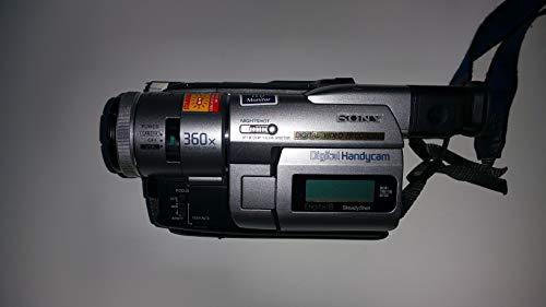 Sony DCR-TRV110 digital8 NTSC camcorder plays 8mm & Hi8 analog
