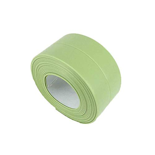 Tings 3.2x3.8CM Tape Afdichtstrip Badkamer Douchebak Bad Afdichtstrip Zelfklevende deurafdichting Strip Waterdichte wandkitstrip, T6,3.2x2.2cm