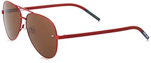 Tommy Hilfiger TJ 0008/S gafas de sol, ROJO MATE, 60 Unisex Adulto