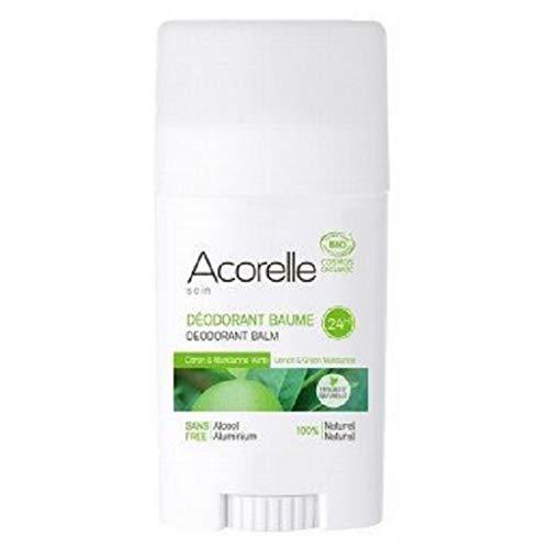 Acorelle Desodorante Bálsamo limón & Mandarina Verde-40g