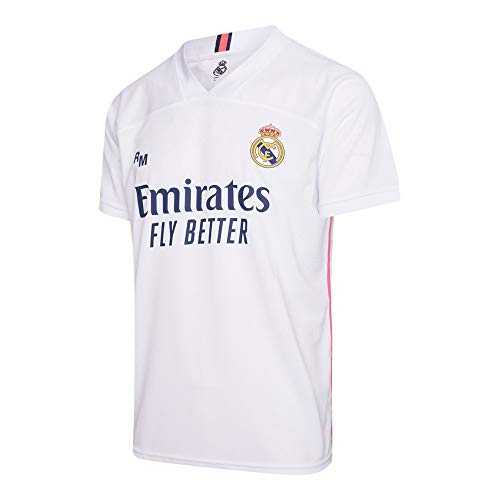 Morefootballs - Offizielles Real Madrid Heimtrikot Herren - 2020/2021 - X-Large (XL) - Real Madrid Kurzarm Shirt - Trikot für Fussbal Training