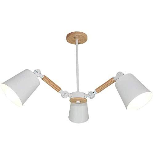 HLY Candelabro simple, lámpara colgante, luz de techo, lámpara de techo, 3 s, moderno, nórdico, Sputnik, colgante simple, Ing Globe, accesorio de pantalla de vidrio para cocina, comedor, sala de esta