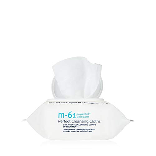 M-61 Perfect Cleansing Cloths- 30 Treatments- Gentle cleansing cloths with vitamin E, lavender  Colorado