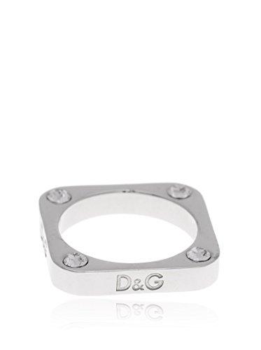 Dolce & Gabbana Dolce&Gabbana DJ0805 - Anillo de Mujer de Acero Inoxidable (Talla: 16)