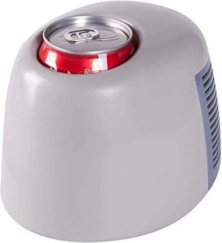 Mini Nevera Taza Fría/Caliente Refrigerador De Bebidas con Funciones De Calentamiento Y Enfriamiento Rápido Carga USB Se Puede Utilizar para Computadora, Energía Móvil