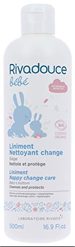 Rivadouce bébé liniment nettoyant change bio 500ml