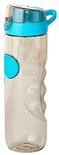 Thermo Rex X-Treme Trinkflasche | 780ml | grau | aus BPA-freiem Kunststoff | nahezu bruchsicher und wiederverwendbar | mit Clip-Deckel | Wasserflasche