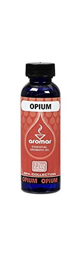 Aromar Aromatherapy Essential Aromatic Fragrance Oil Opium Scent 2.2oz Made in USA