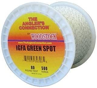 IGFA Braided Dacron Green Spot 50#-500 Yards